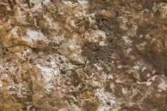 Brown granite close up. Stone background. Stock Image