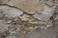 Brown granite close up. Stone background. Stock Photos