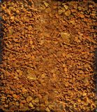 Brown granulate background. Brown spice granulated to coffee and desserts background Stock Photos