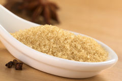 Brown Granulated Sugar Stock Images