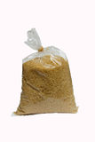 Brown granulated sugar Royalty Free Stock Image