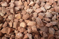 Brown gravel stock photography