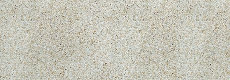 Brown gravel around the pool. royalty free stock image