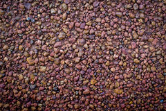 Brown gravel texture background Stock Photos