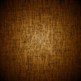 Brown-gray textured background. With fibers and vignette Stock Photography