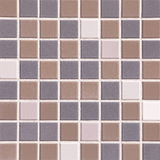 Brown and gray tiles texture, seamless Stock Photo