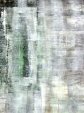 Brown and Green Abstract Art Painting Stock Images