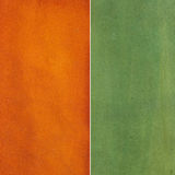 Brown and green leather texture Stock Images