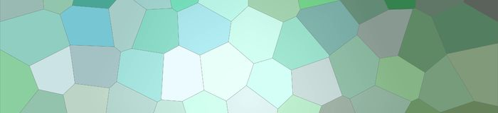 Brown, grey and green bright Big Hexagon in banner shape background illustration. Brown, grey and green bright Big Hexagon in banner shape background stock illustration