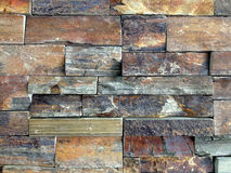 Brown And Grey Stone Wall Royalty Free Stock Photography