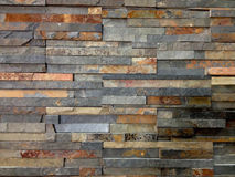 Brown And Grey Stone Wall Royalty Free Stock Photos