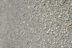 Brown ground and stone surface background ,Nature style and empty space for text. Royalty Free Stock Image