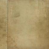 Brown grunge Abdeckung für ein Album lizenzfreie abbildung