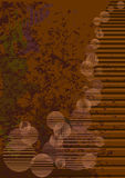 Brown grunge background Stock Photos