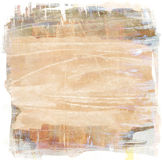 Brown grunge background. Brown scratched grunge watercolor background Stock Photos