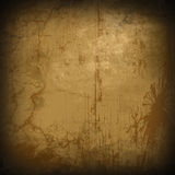 Brown grunge background Stock Images
