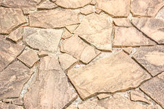 Brown grunge cracked stone floor Royalty Free Stock Images