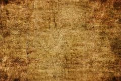 Brown Grunge Dark Yellow Rusty Distorted Decay Old Abstract Canvas Painting Texture Pattern for Autumn Background Wallpaper stock photos