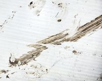 Brown grunge dirty stain background Stock Photo