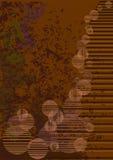 Brown grunge Hintergrund Stockfotos