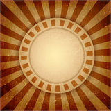 Brown grunge light rays background Stock Image