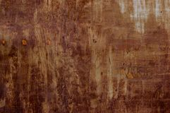 Brown grunge metal background with space for text or image Stock Images