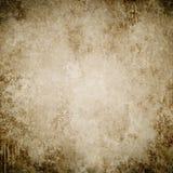 Brown grunge tło, papierowa tekstura, rama, farb plamy, stai obraz royalty free