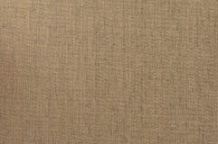 Brown Grunge Tekstylny Brezentowy tło Obrazy Royalty Free