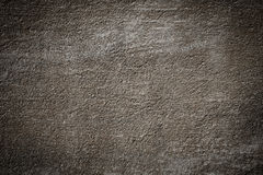 Brown grunge textured wall Stock Image