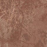 Brown grunge vector background Stock Photography