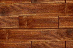 Brown grunge wood tiles texture abstract background Stock Photo