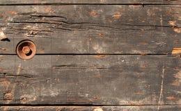 Brown-grungy Holz Stockfotografie