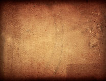 Brown grungy wal Royalty Free Stock Photo