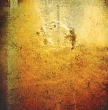 Brown grungy wall Stock Images