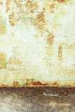 Brown grungy wall Stock Photography