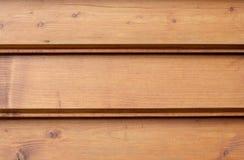 Brown-hölzerne Planken Lizenzfreies Stockbild