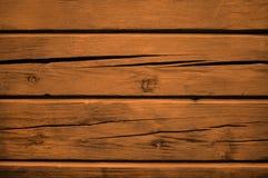 Brown-hölzerner Matthintergrund von Klotz mit Sprüngen stockbilder