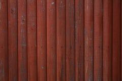 Brown ha dipinto la struttura di legno Fotografia Stock