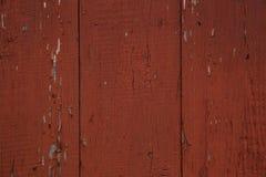 Brown ha dipinto la struttura di legno Immagine Stock