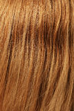 Brown hair. Detailed closeup of human brown hair Stock Photo