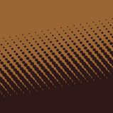 Brown halftone background Stock Images