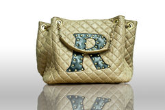 Brown Handbag Stock Images