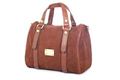 Brown handbag Royalty Free Stock Image