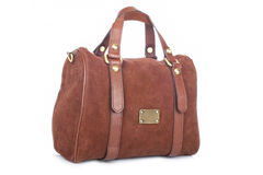 Brown handbag Royalty Free Stock Photo