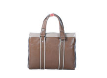 Brown handbag Stock Image