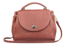 Brown handbag Royalty Free Stock Photography