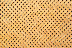 Brown handicraft weave texture wicker surface for furniture mate Stock Photos