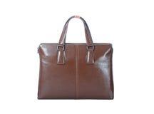 Brown-Handtasche stockfoto