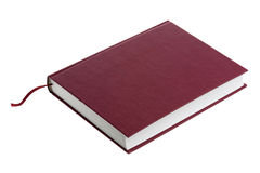 Brown hardback book Stock Image