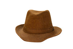 Brown hat Royalty Free Stock Photos